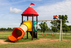 Modern children playground Stock Photography