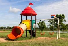 Modern children playground Stock Photography