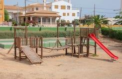 Modern children playground. Stock Photography