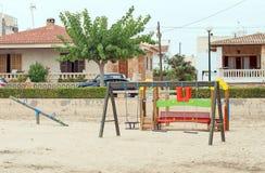 Modern children playground. Stock Photos
