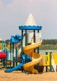 Modern children playground Stock Photos