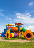 Modern children playground in park Royalty Free Stock Photography
