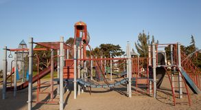 Modern Children's playground Royalty Free Stock Photography