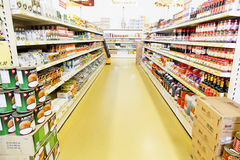 Modern Chinese Grocery Shop Stock Image