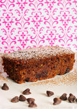 Modern chocolate zucchini bread Royalty Free Stock Images