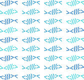Modern Christian Fish Symbol Pattern Beach Colors. A modern Christian Fish symbol pattern in beautiful beach colors available in jpg, png, vector formats Stock Image