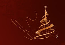Modern Christmas Royalty Free Stock Images