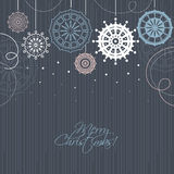 Modern Christmas background Stock Photos