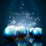 Modern Christmas greeting card Stock Photos