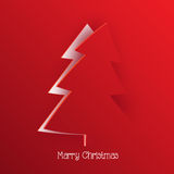 Modern Christmas greeting Stock Photos