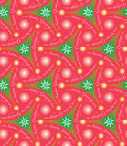 Modern Christmas pattern seamless Stock Image