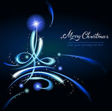 Modern Christmas tree Royalty Free Stock Image