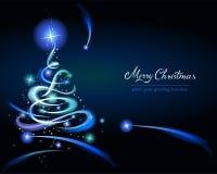 Modern Christmas tree Stock Photo