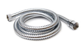 Modern chrome hose Royalty Free Stock Photos