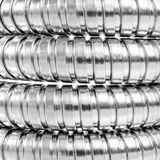 Modern chrome hose Royalty Free Stock Photo