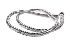 Modern chrome hose Stock Photography