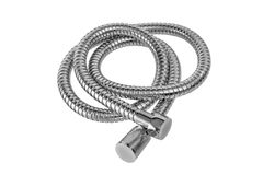 Modern chrome hose Royalty Free Stock Photo