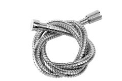 Modern chrome hose Stock Photography