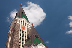 Modern church Royalty Free Stock Images