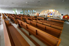 Modern church Stock Image