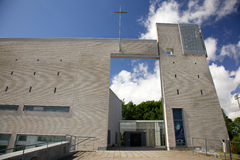 Modern church building Stock Photos