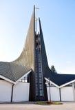 Modern church. City - Breclav, the Czech Republic Royalty Free Stock Photos