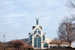 Modern church Stock Photography
