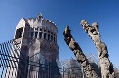 Modern church in Echmiadzin monastery complex,Armenia Stock Photography