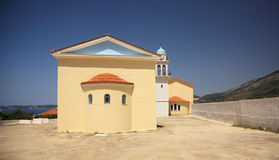 Modern Church in Kefalonia Royalty Free Stock Image