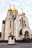 The modern church in Khanty-Mansiysk Stock Images