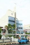 Modern church in Manado Royalty Free Stock Photography