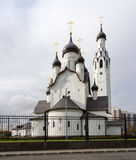 Modern church in Sankt-Peterburg Royalty Free Stock Images