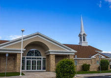 Modern Church & Steeple Stock Images