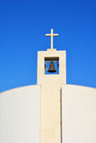 Modern church tower Royalty Free Stock Photos