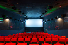 Modern cinema auditorium Stock Photo