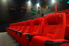Modern cinema auditorium Stock Photography