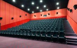 Modern cinema hall Stock Images
