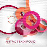 Modern circle geometric shape background Stock Photos