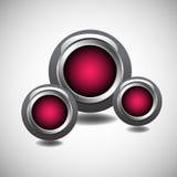 Modern circles Stock Image