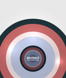 Modern circles minimal abstract background Royalty Free Stock Photo