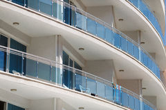 Modern circular building Stock Image