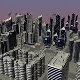 Modern city Royalty Free Stock Photography