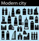 Modern city Stock Photos