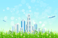 Modern City Royalty Free Stock Images