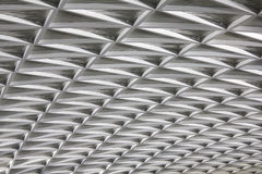 Modern city architecture ceiling detail Royalty Free Stock Images