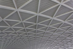 Modern city architecture ceiling detail Royalty Free Stock Photo