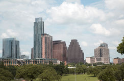 Modern city Austin downtown. Beautiful downtown of modern city Austin  ,TX USA Royalty Free Stock Images