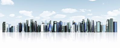 Modern City background Royalty Free Stock Image