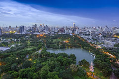 Modern city of Bangkok Stock Photography