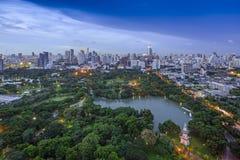 Modern city of Bangkok Stock Photography